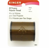 All Purpose Polyester Thread 150 Yards Brown
