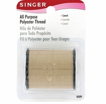 All Purpose Polyester Thread 150 Yards Camel