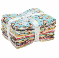 Allison Cole Birds of a Feather 18inx21in Fat Quarters