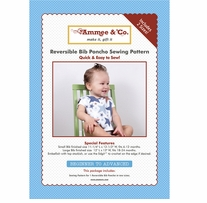 Ammee's Babies Sewing Patterns Baby Essentials Bib Poncho