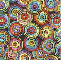 Arlee Dotted Disc Fabric Bolt