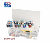 Art Bin Sew-Lutions Sewing Thread Storage Box Translucent