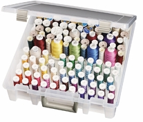 Art Bin Super Satchel Box With Removeable Thread Trays
