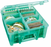 ArtBin Double Deep Super Satchel Translucent Teal