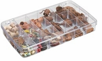 ArtBin Prism Box 18 Compartments Translucent