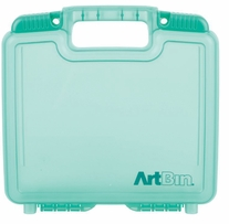 ArtBin Quick View Deep Base Carrying Case Translucent Teal