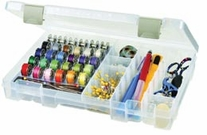 ArtBin Sew-Lutions Bobbin and Supply Box Translucent