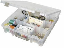ArtBin Super Satchel 3-15 Compartments Translucent