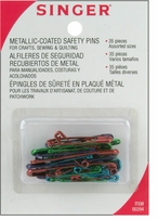 Assorted Bright Safety Pins