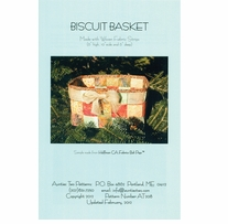 Aunties Two Patterns Biscuit Basket