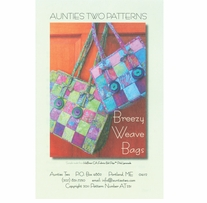 Aunties Two Patterns Breezy Weave Bag