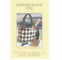 Aunties Two Patterns Diamond Island Tote