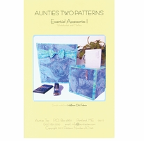 Aunties Two Patterns Essential Accessories I