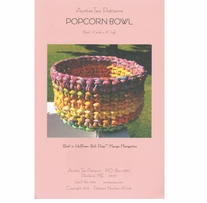 Aunties Two Patterns Popcorn Bowl