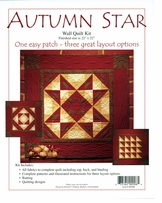 Autumn Star Wall Quilt Kit