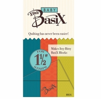 Baby BasiX By X Blocks Template 1.5in