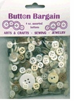 Bag Of Buttons Naturals