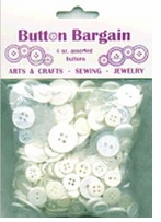 Bag Of Buttons Whites