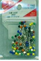 Ball Point Color Head Pins Size 17