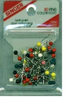 Ball Point Color Head Pins Size 20