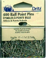 Ball Point Pins Size 17 400/Pkg