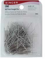 Ball Point Straight Pins Size 20 250/Pkg