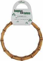 Bamboo Purse Handles - Click to enlarge