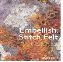 Batsford Books Embellish, Stitch, Felt