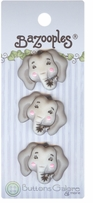 BaZooples Buttons Elsie The Elephant