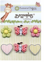 BaZooples Buttons Flutterbug Medley