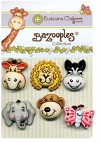 BaZooples Buttons Gertrude and Friends