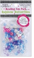 Beading Fun Packs Rainbow Butterflies
