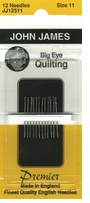 Big Eye Quilting Hand Needles Size 11