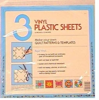 Blank Clear Template Sheets 12inx12in