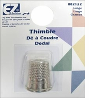 Brass Plated English Thimble Large