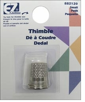 Brass Plated English Thimble Small