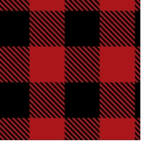 Buffalo Plaid Fleece Black/Red 58/60in 100% Polyester D/R