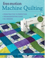 C and T Publishing Free Motion Machine Quilting