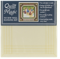 Christmas Ornaments Quilt Magic Kit 12in x 12in