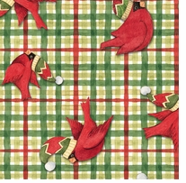 Christmas Plaid 43/44in Wide 100% Cotton D/R