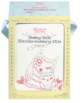 Chronicle Books Baby Bib Embroidery Kit