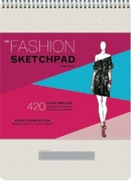Chronicle Books The Fashion Sketchpad