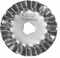 Clauss Rotary Cutter Replacement Blade Pinking 45mm