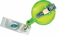 Clip-On Retracto Reel Neon Green