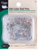 Color Ball Pins Size 17