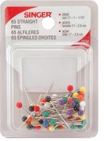 Color Head Straight Pins Assorted Sizes