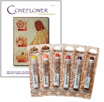 Coneflower Quilt Kit Warm Colors