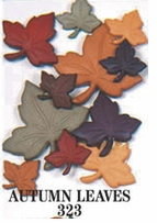 Country Dress It Up Embellishments Autumn Leaves