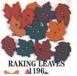 Country Dress It Up Embellishments Raking Leaves