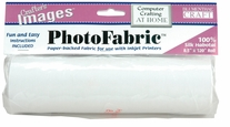 Crafter's Images PhotoFabric 100% Silk Habotai Roll